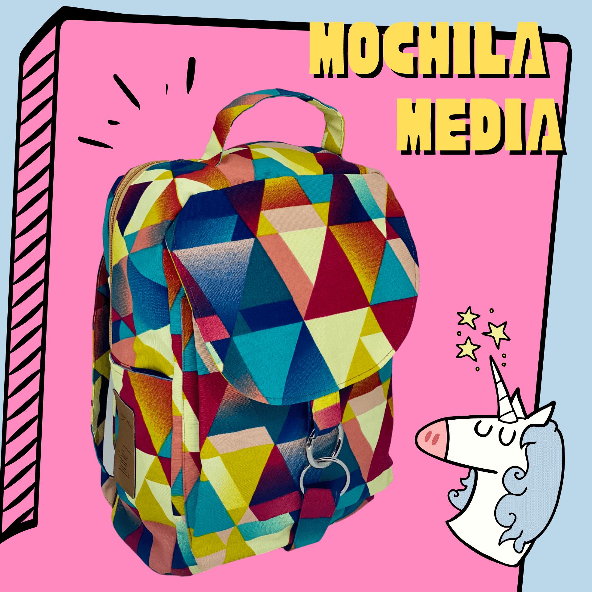 Mochila Artesanal Média