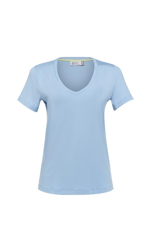 T-Shirt Gola V Modal - Light Blue