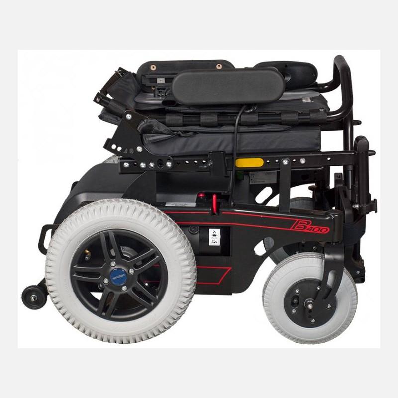7620fad7c Cadeira de Rodas Motorizada Reclinável B400 Ottobock Ajustável com Encosto  Tensionável