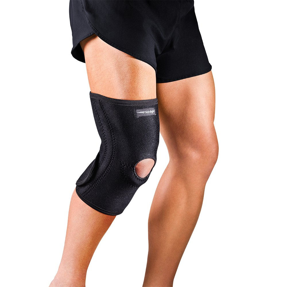 Joelheira Ortopédica Ajustável com Molas de Aço Flexíveis Hidrolight em  Neoprene c45a03695c777