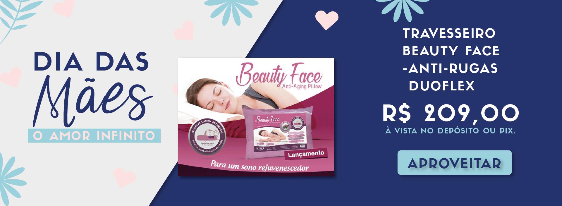 [MÃES] Travesseiro Beauty DESK
