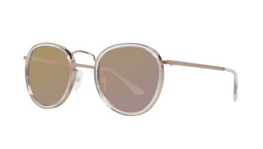 16454926599df MARIANA CLEAR ROSE GOLD   PINK CHROME LENS