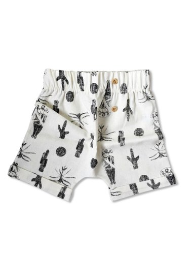 Short Saruel Sertanejo - Branco Off